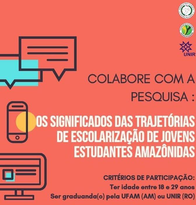 CONVITE PARA PARTICIPAÇÃO EM PESQUISA